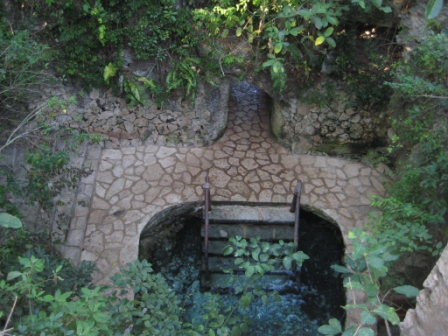 Entrada do Rio subterrâneo