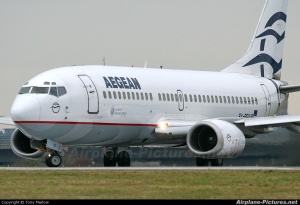 Aegean Airplane