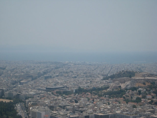 Vista do Monte Lycabettus