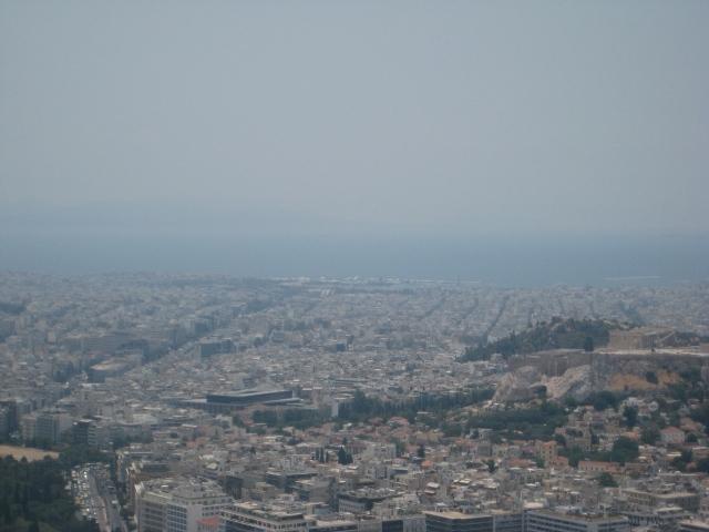 Vista do Monte Lycabettus