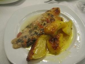 Peixe c/ batatas