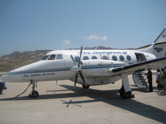 Avião da Sky Express