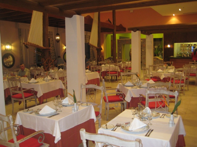 Restaurante de frutos do mar