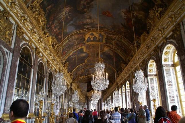 Palácio de Versailles (foto:  www.kybipix.com)
