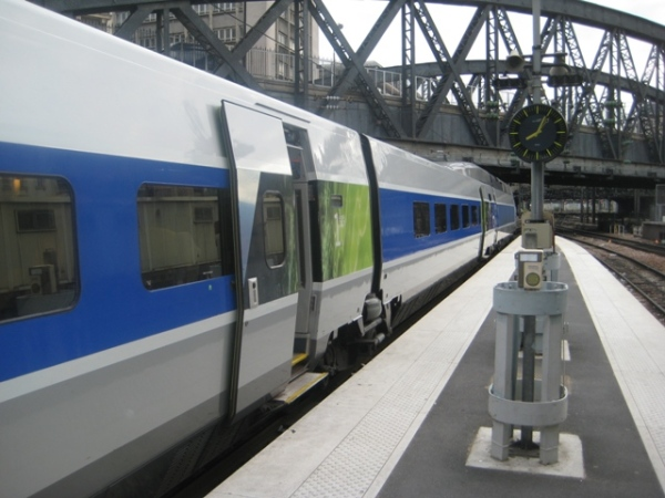 Trem Paris-Estrasburgo