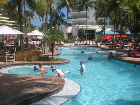Piscina do Marriott