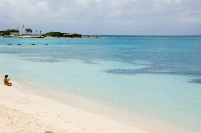 Aruba praias sul
