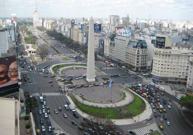 Buenos Aires Avenida 9 de Julio