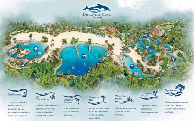 map Discovery Cove