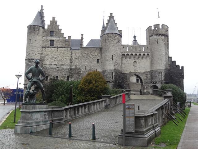 Antuérpia - Castelo Steen