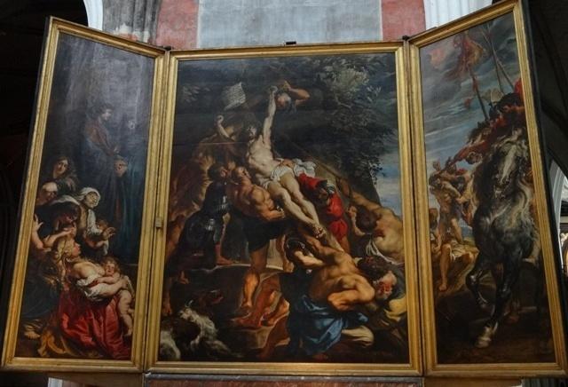 Antuérpia - Catedral - Quadros 1