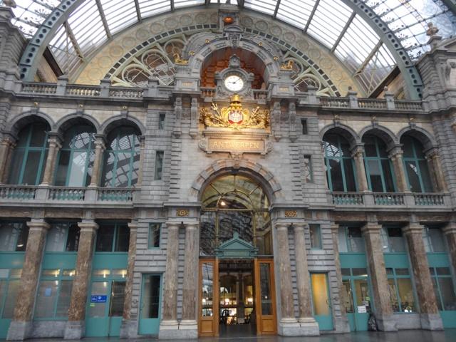 Antuérpia - Estação de Trem 2