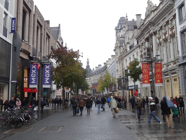 Antuérpia - Rue Meir 1