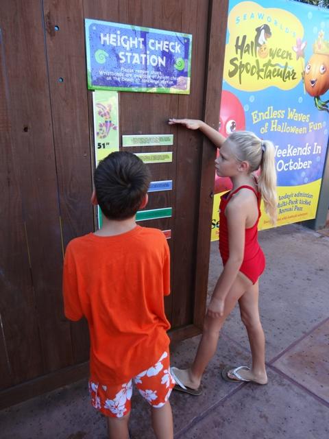Aquatica - medidor de altura para crianças