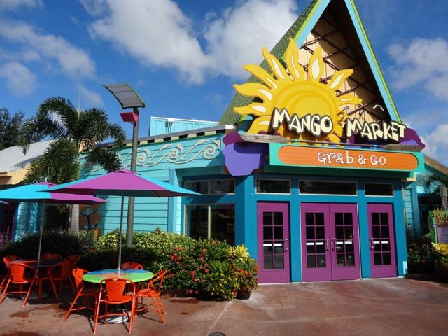 Aquatica - Restaurante Mango Market