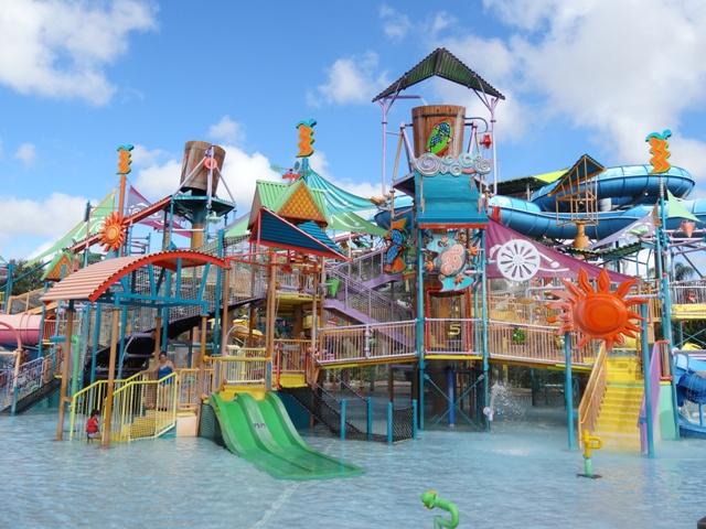 Aquatica - brinquedão aquático para crianças 2