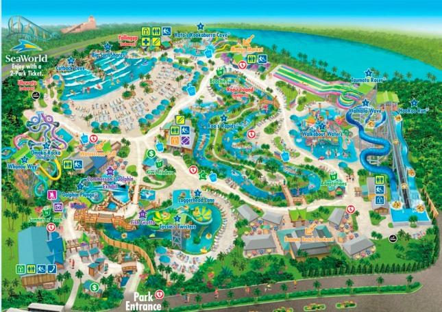 Aquatica Mapa