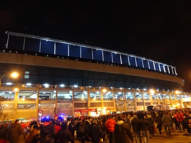 Atletico de Madrid - Estádio Externo