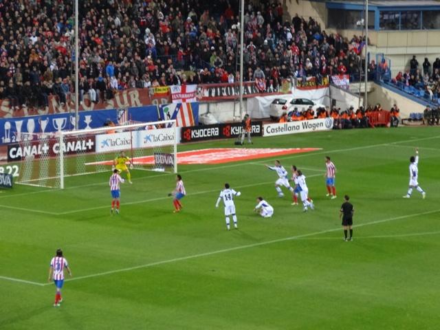 Atletico de Madrid - Jogo 3 - Gol
