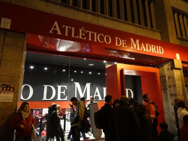 Atletico de Madrid - Loja 1