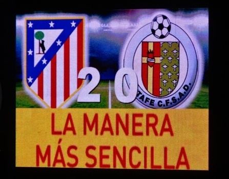 Atletico de Madrid - Placar