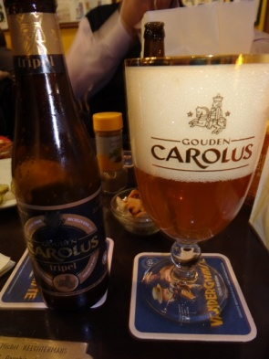 Bruxelas Chocolate e Cervejas - Cerveja Gouden Carolus