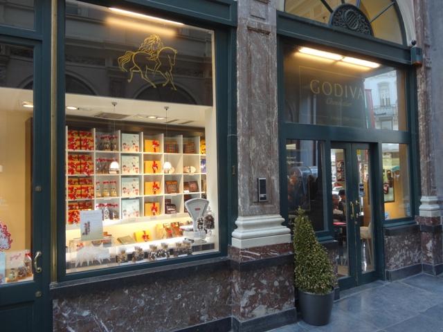 Bruxelas Chocolate e Cervejas - Godiva