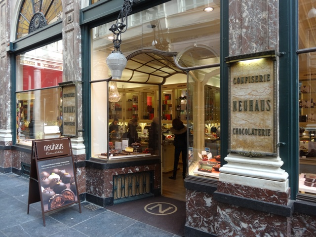 Bruxelas Chocolate e Cervejas - Neuhaus