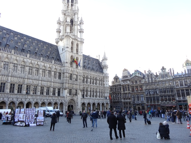 Bruxelas - Grand Place - 01