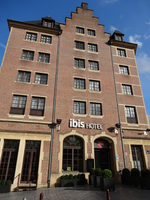 Bruxelas - Hotel Ibis Grand Place