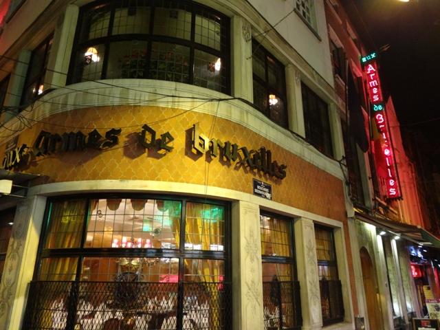 Bruxelas Restaurantes - Aux Armes des Bruxelles 1