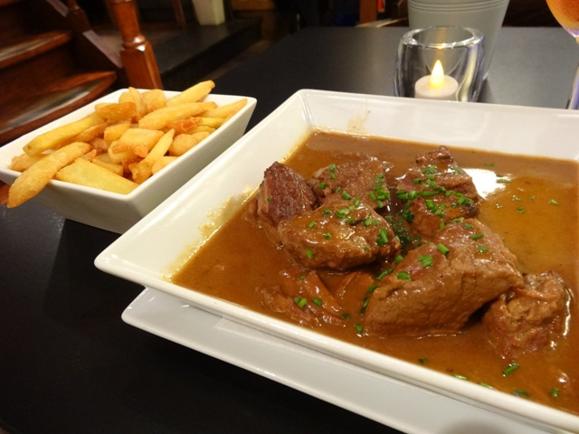Bruxelas Restaurantes - L`Entree des Artistes 1