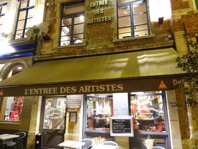 Bruxelas Restaurantes - L`Entree des Artistes 2
