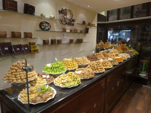 Bruxelas Restaurantes - Patisserie Orientale 1