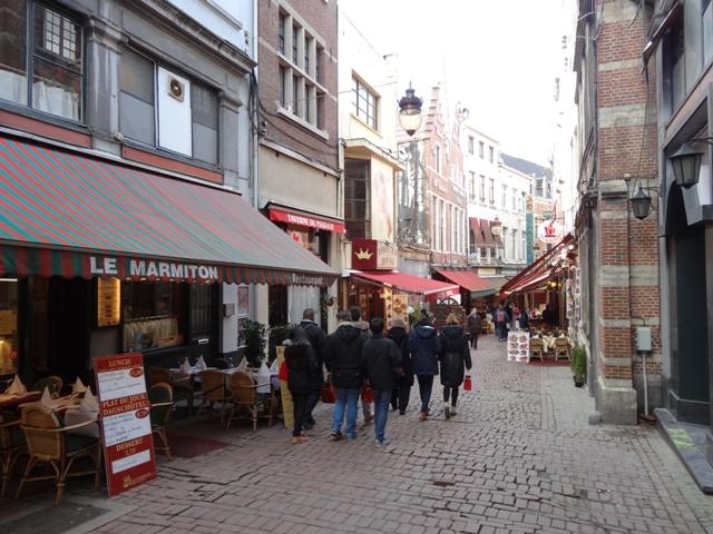 Bruxelas Restaurantes - Rue des Bouchers