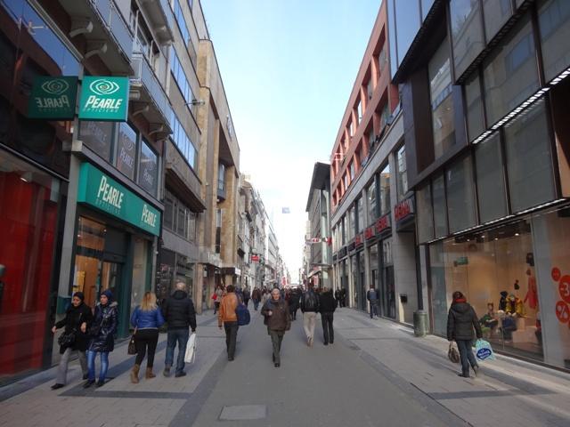 Bruxelas - Rua de Lojas