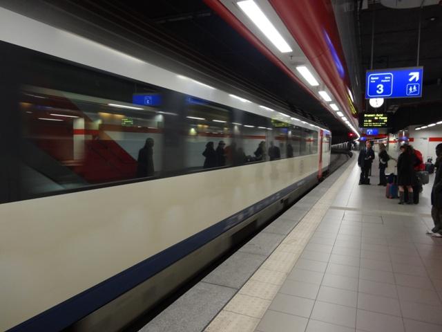 Bruxelas - Trem do aeroporto