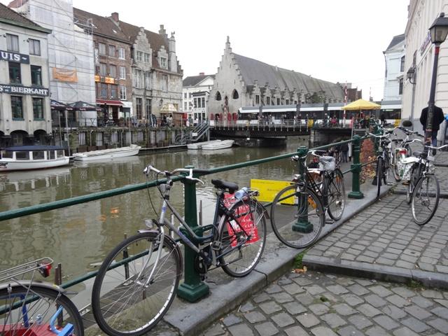 Gent - Canal da Rua Kraanlei 1