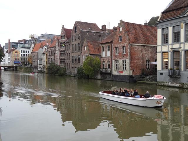 Gent - Canal da Rua Kraanlei 2