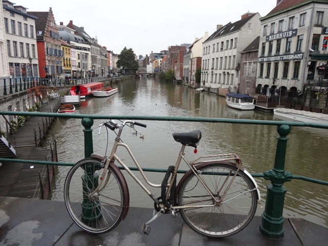 Gent - Canal da Rua Kraanlei 3