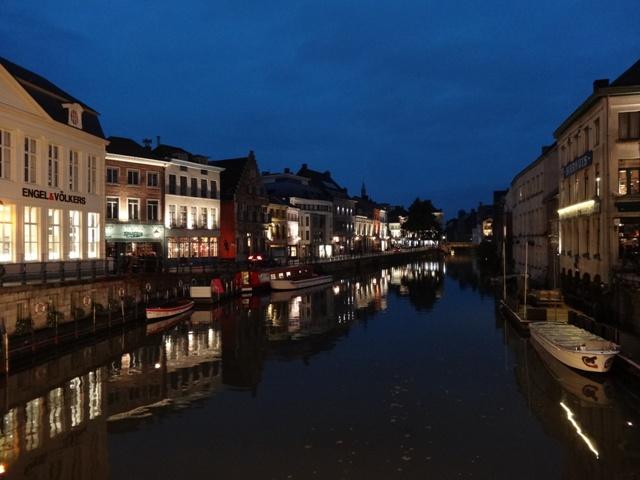 Gent - Canal(Noite)