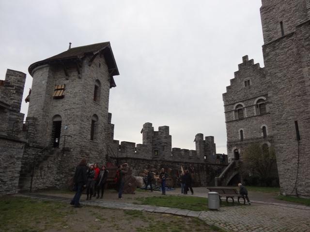 Gent - Castelo Gravesteen 2