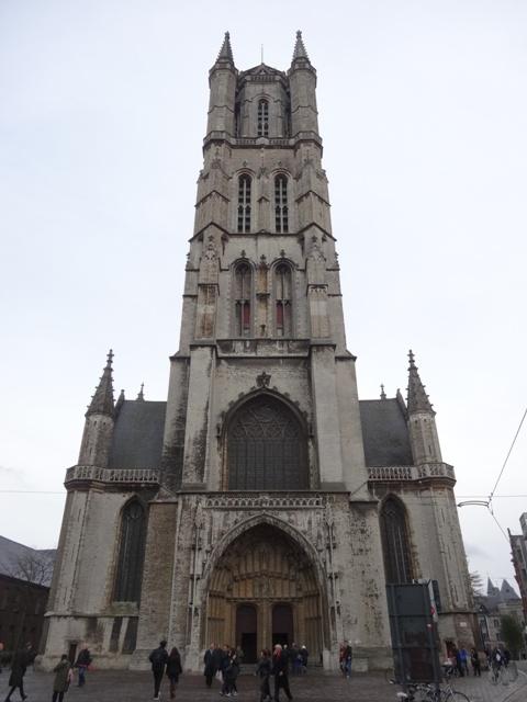 Gent - Catedral Saint Bavo 1