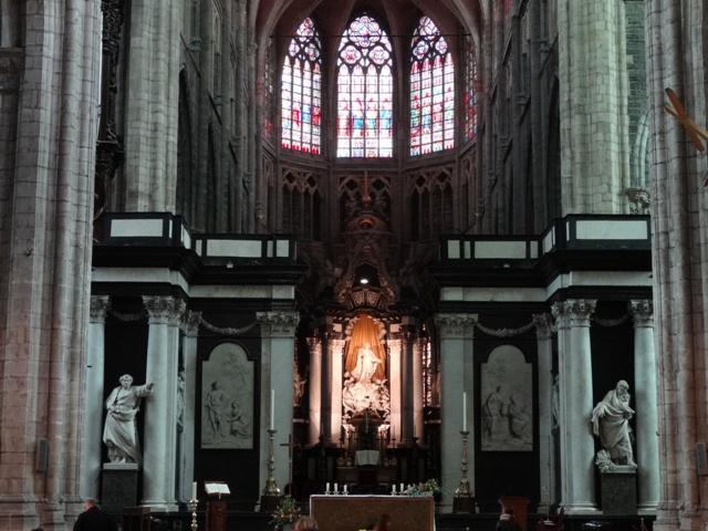 Gent - Catedral Saint Bavo 4