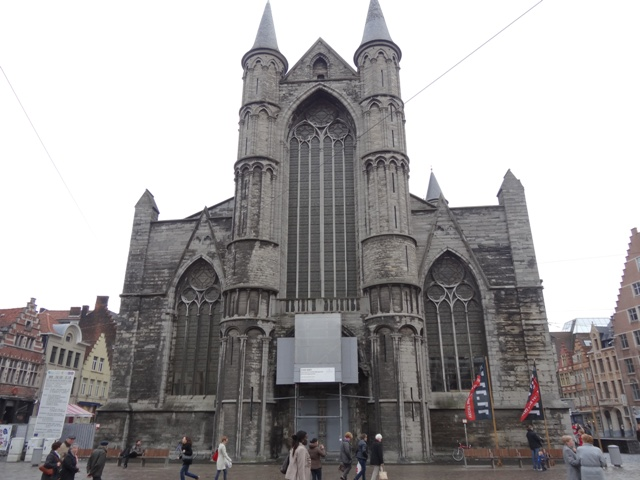 Gent - Igreja de Sao Nicolau 1