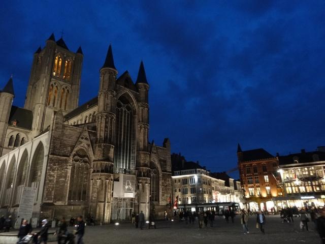 Gent - Korenmarkt 3 (Noite)