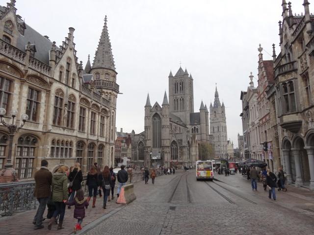 Gent - Sint Michielsbrug 1