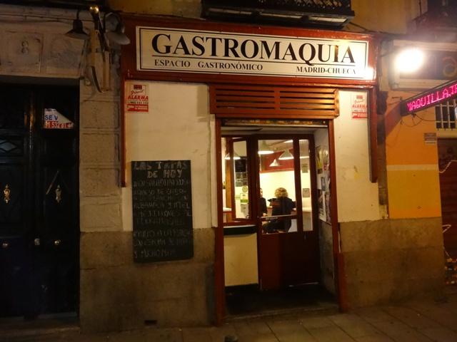 Madri-Restaurante Gastromaquia 1