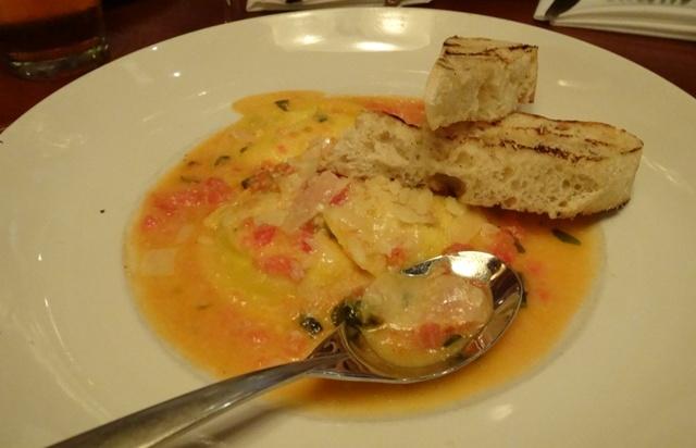 Orlando Restaurante - Seasons 52 - Massa de queijo de cabra
