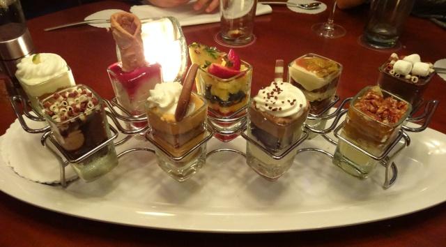 Orlando Restaurante - Seasons 52 - Sobremesas